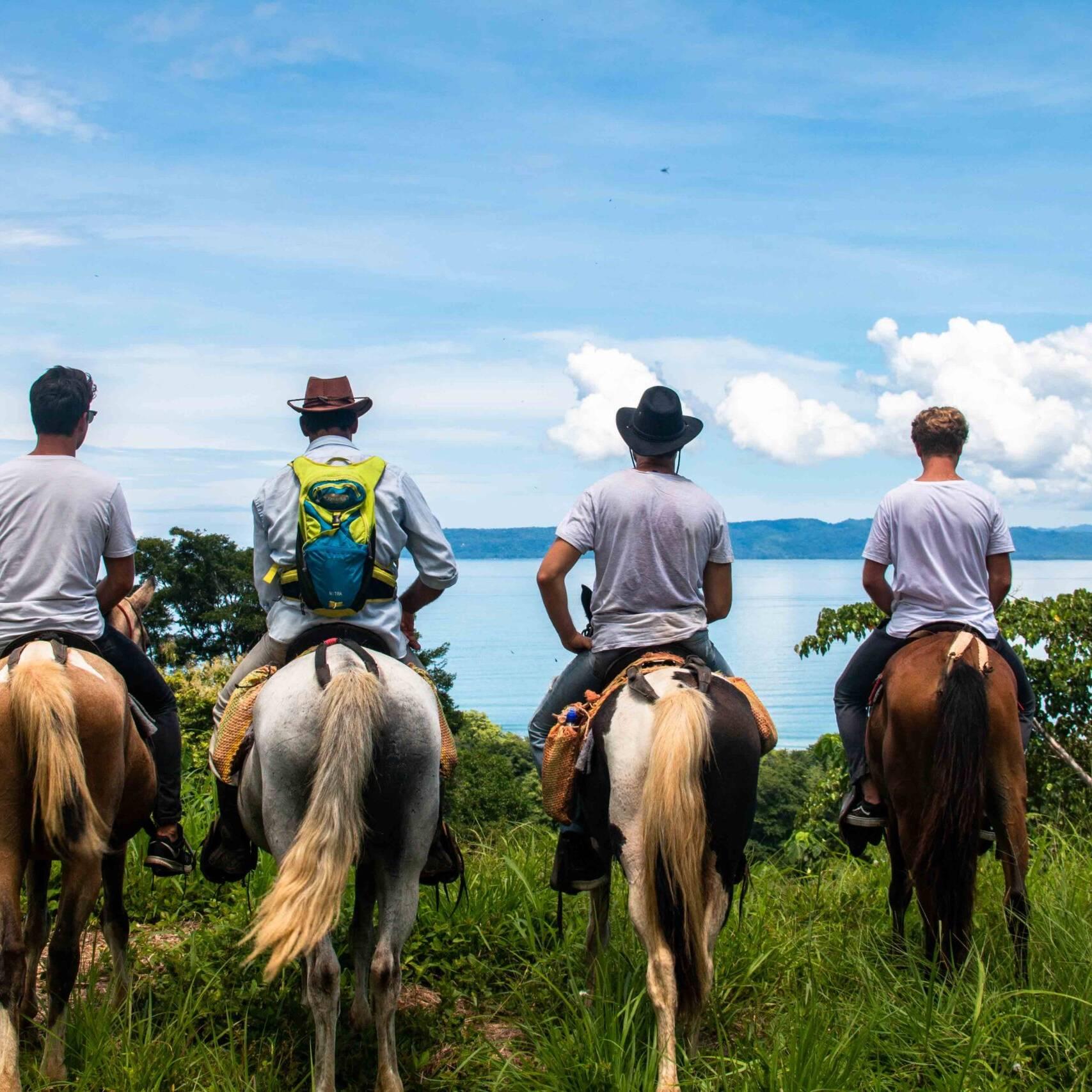 horseback riding trip Rancho Burica Costa Rica