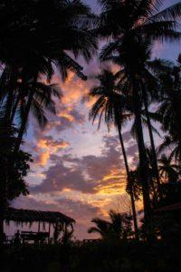 sunset Rancho Burica Costa Rica