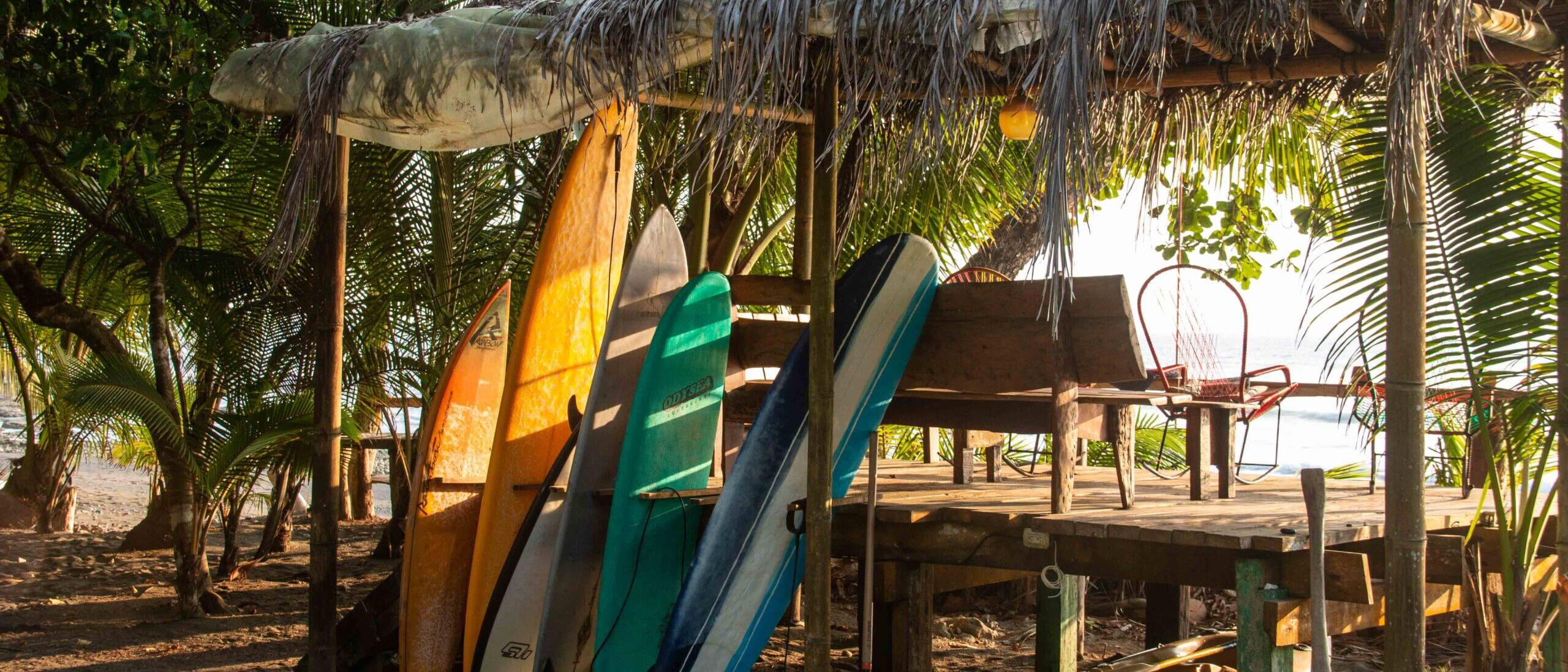 surfboards Rancho Burica Costa Rica