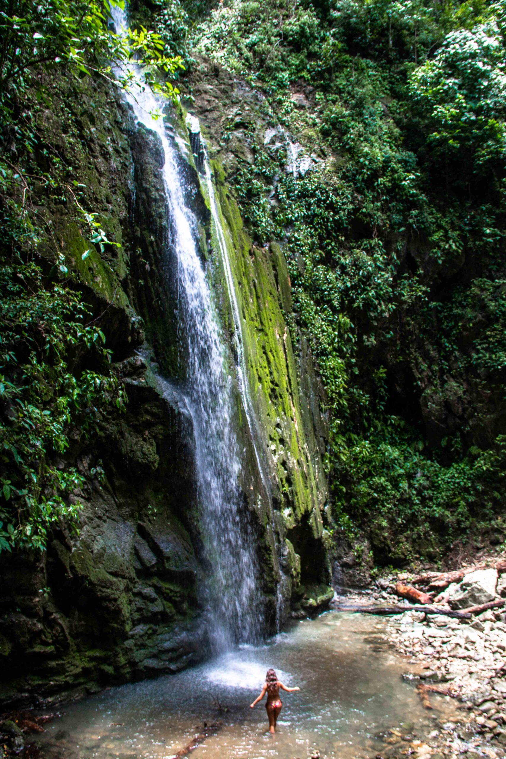waterfall Matapalo Costa Rica