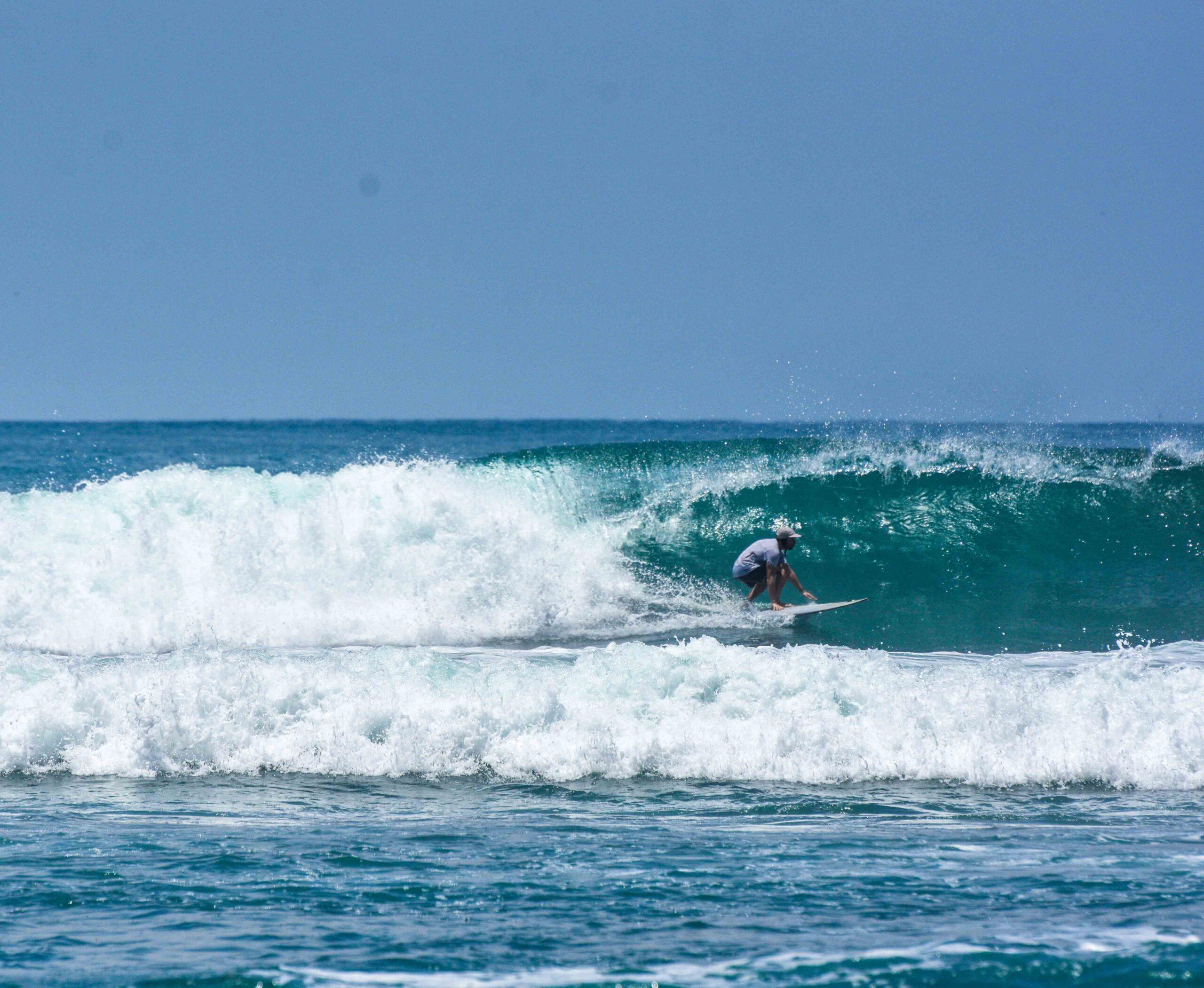 Surfer at Punta Banco Costa Rica