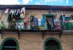 Balcony in Casco Viejo Panama City