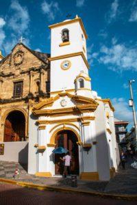 Casco Viejo church Panama City