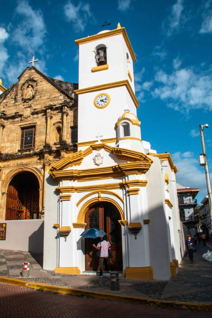Casco Viejo church Panama City
