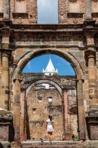 Casco Viejo ruins Panama City