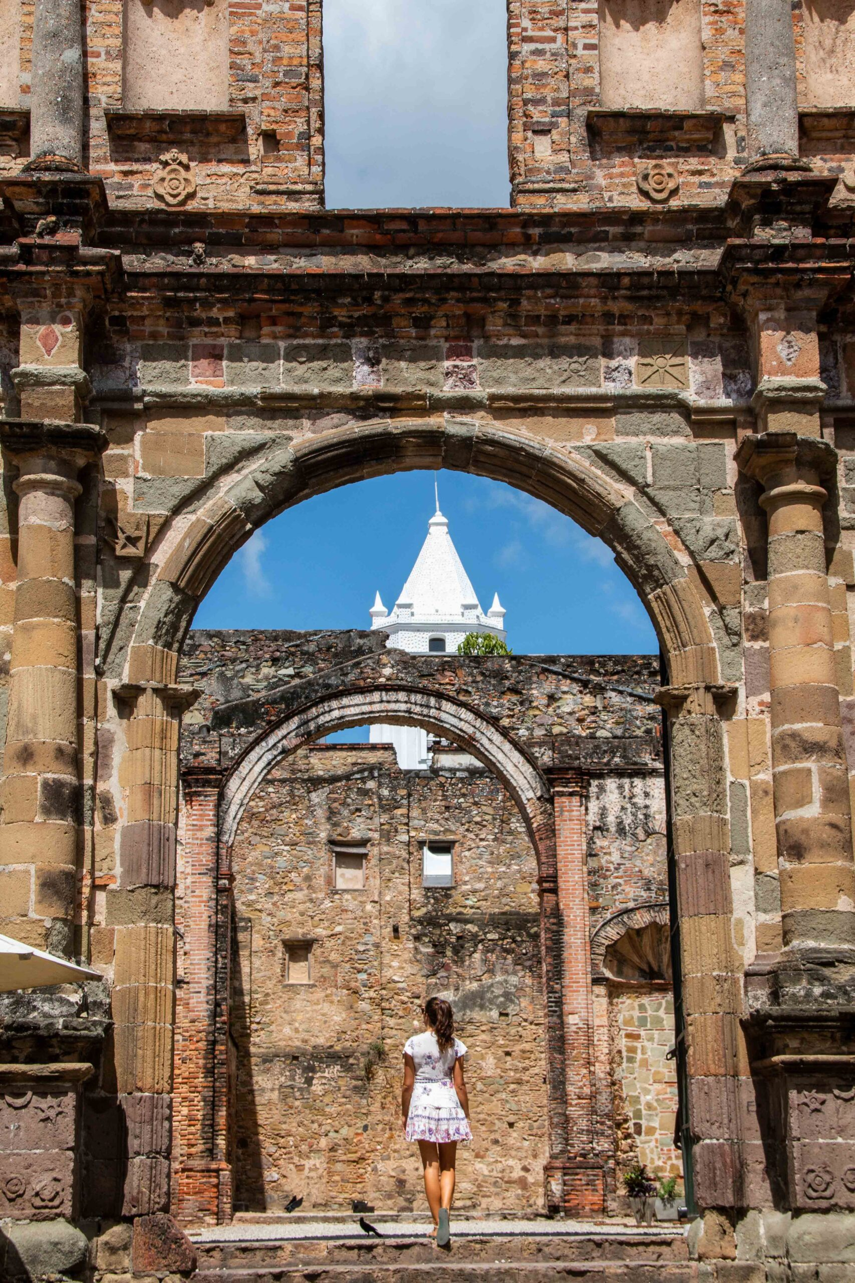 Casco Viejo ruins Panama City
