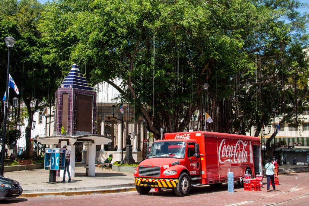 Casco Viejo street life Panama City