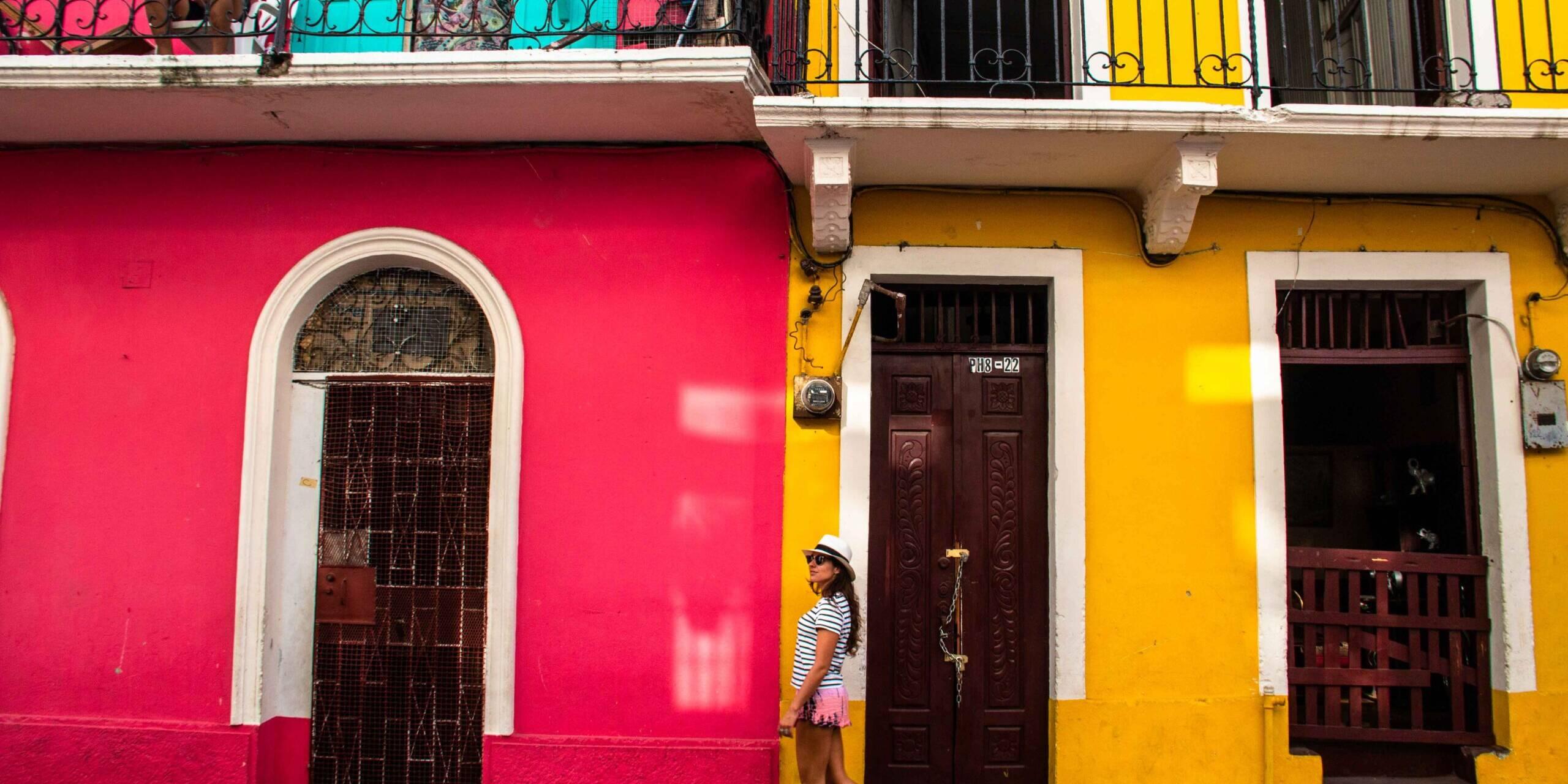 Girl in Casco Viejo Panama City