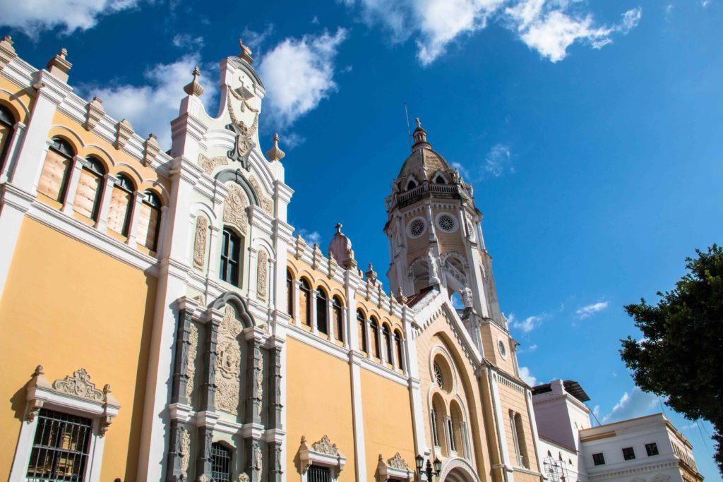 Iglesia de San Francisco de Asis Casco Viejo Panama City