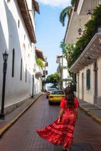 Casco Viejo colonial streets Panama City