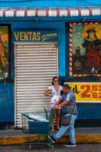 Fisher man Casco Viejo Panama City