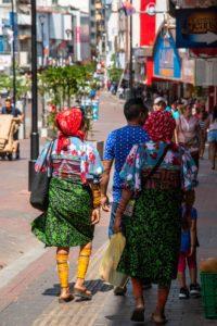 Indigenous people Panama City