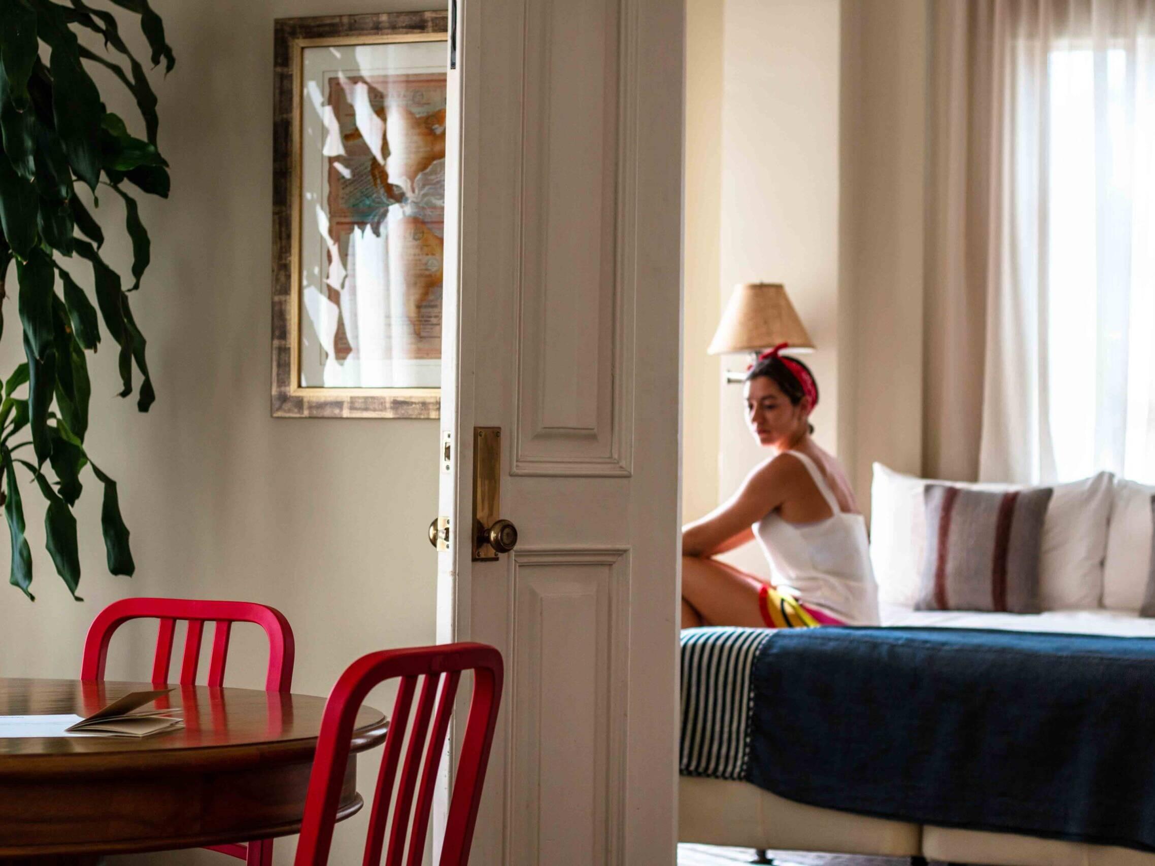 Las Clementinas hotel room Panama City