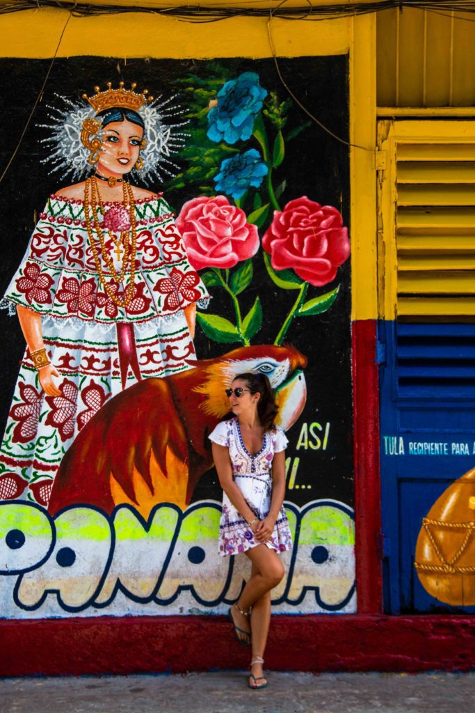 Street art Casco Viejo Panama City