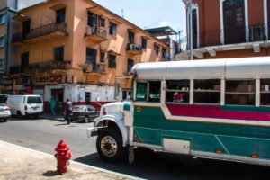 local bus Panama City