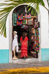 tourist shop Casco Viejo Panama City