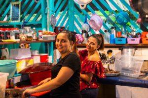 Rancho Burica kitchen staff in Punta Banco Costa Rica