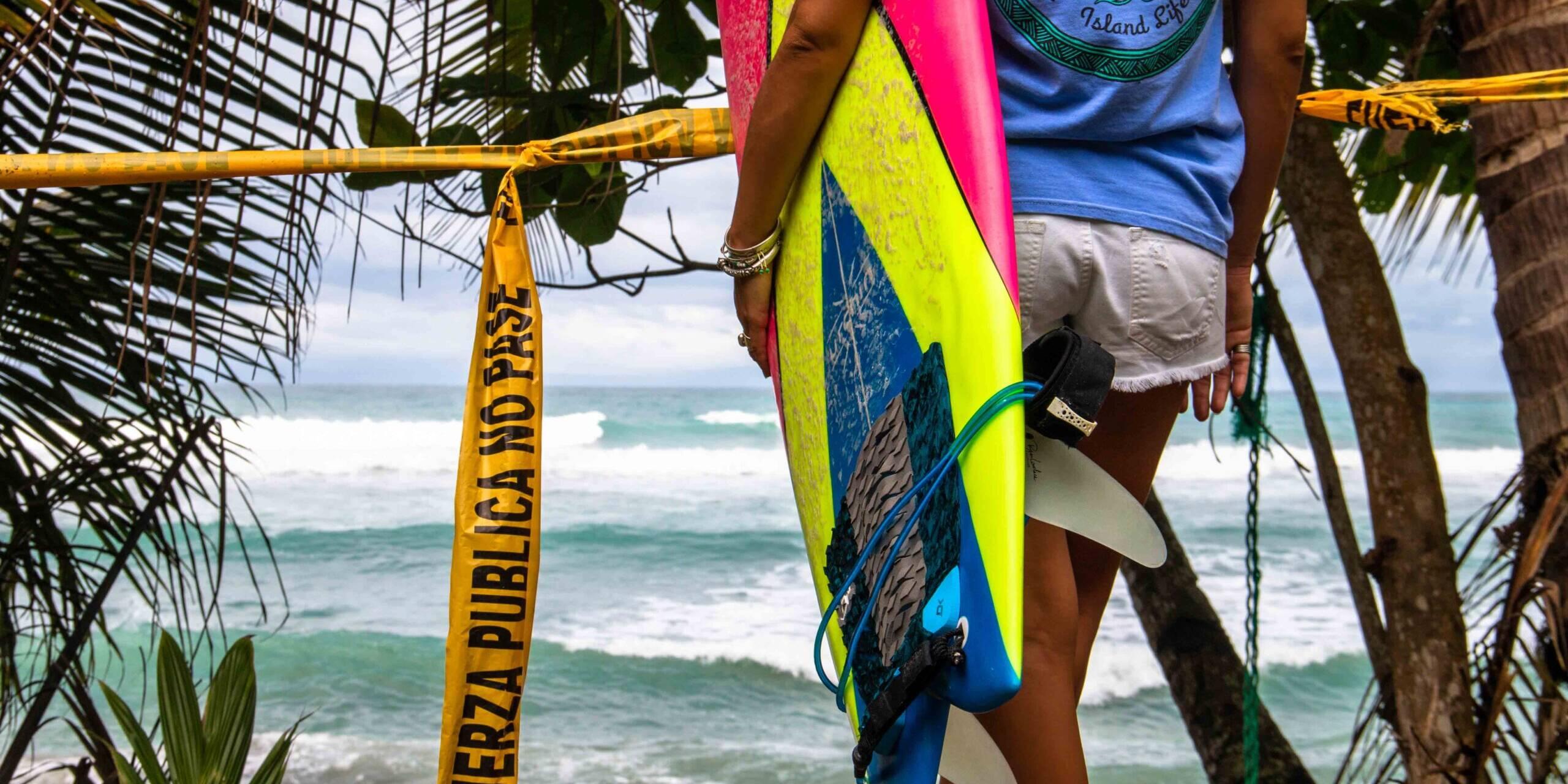 COVID-19 beach restrictions costa rica