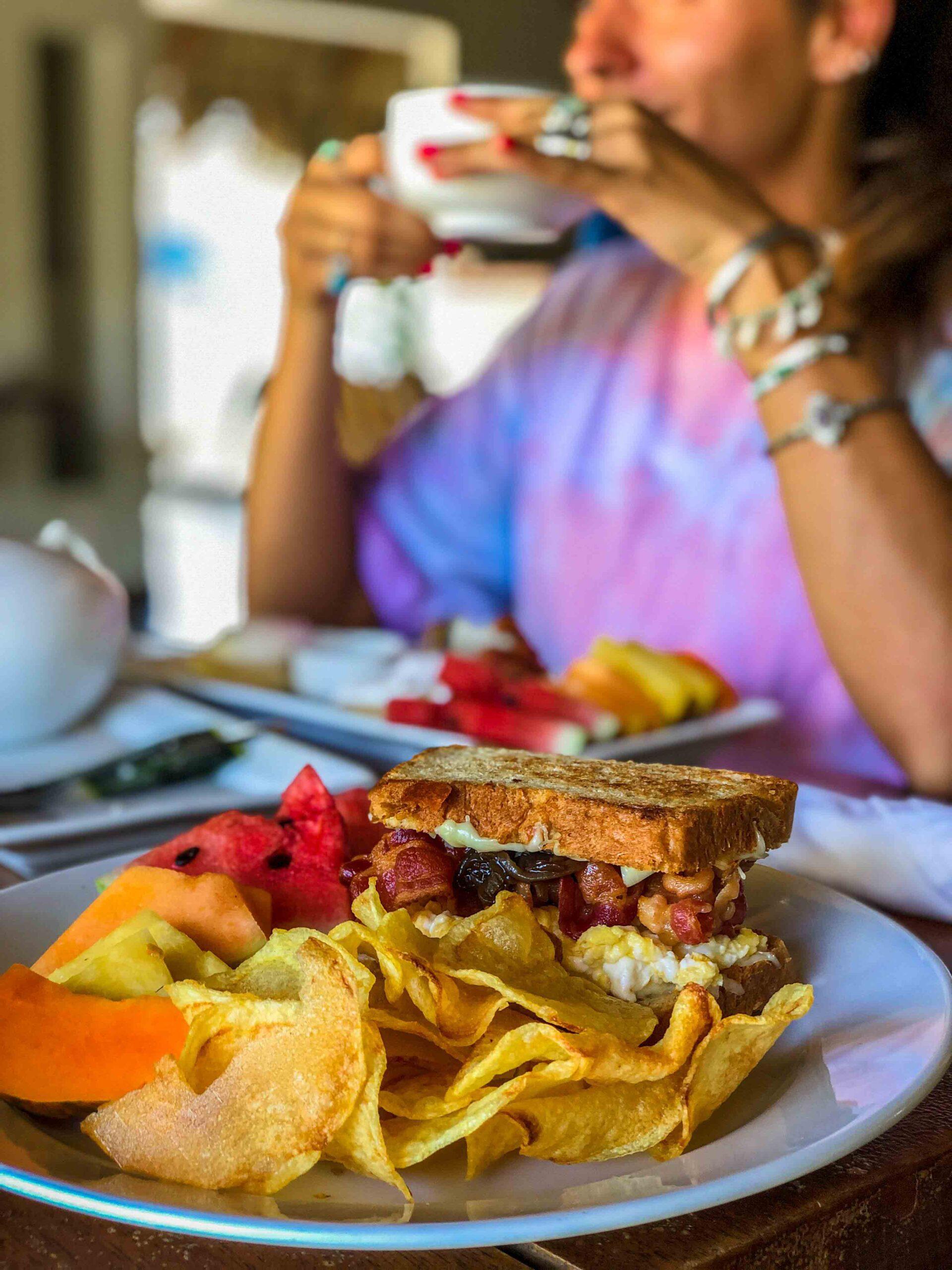 Breakfast at Malibu Popoyo Nicaragua