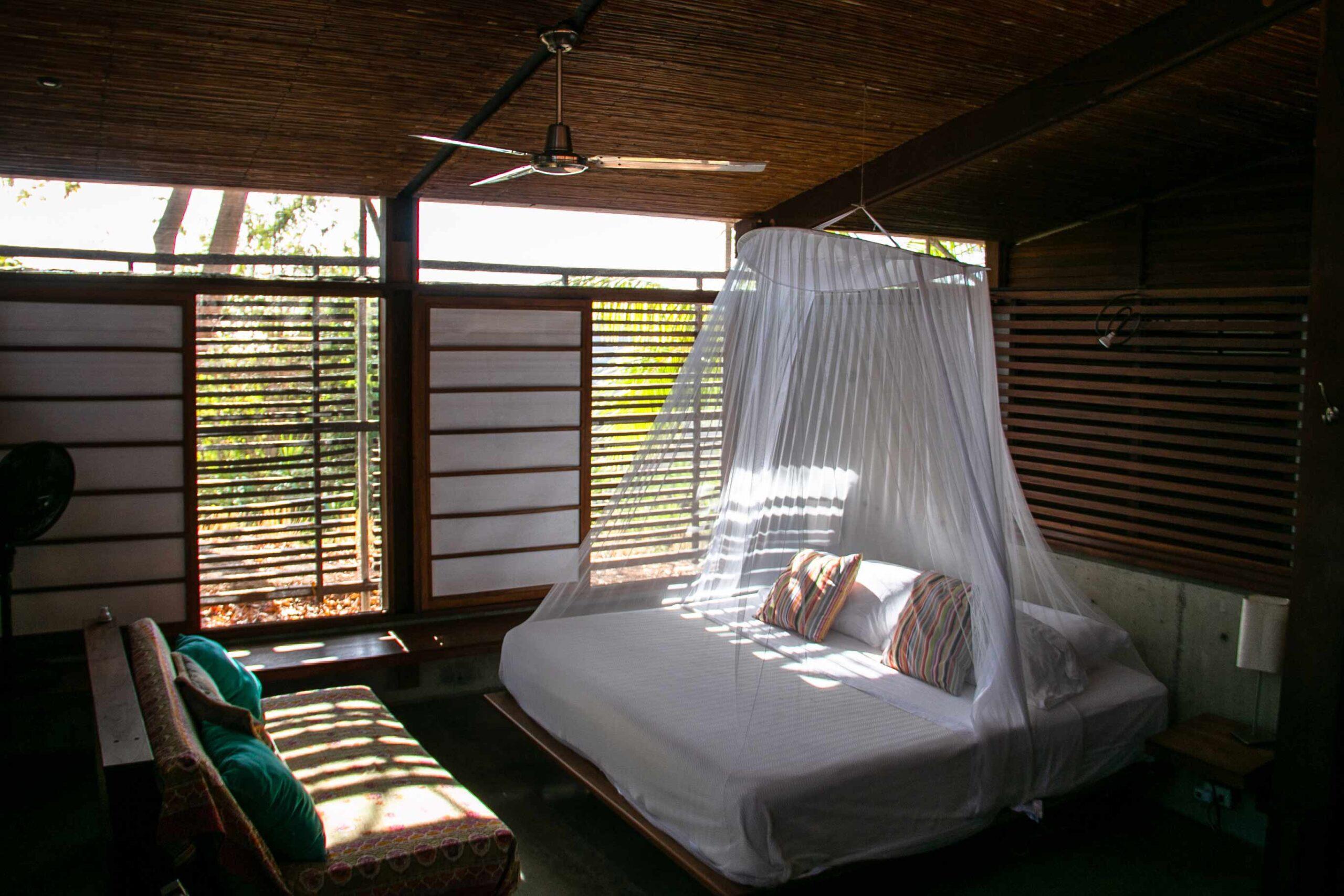 Bedroom at Balcones de Majagual in Nicaragua