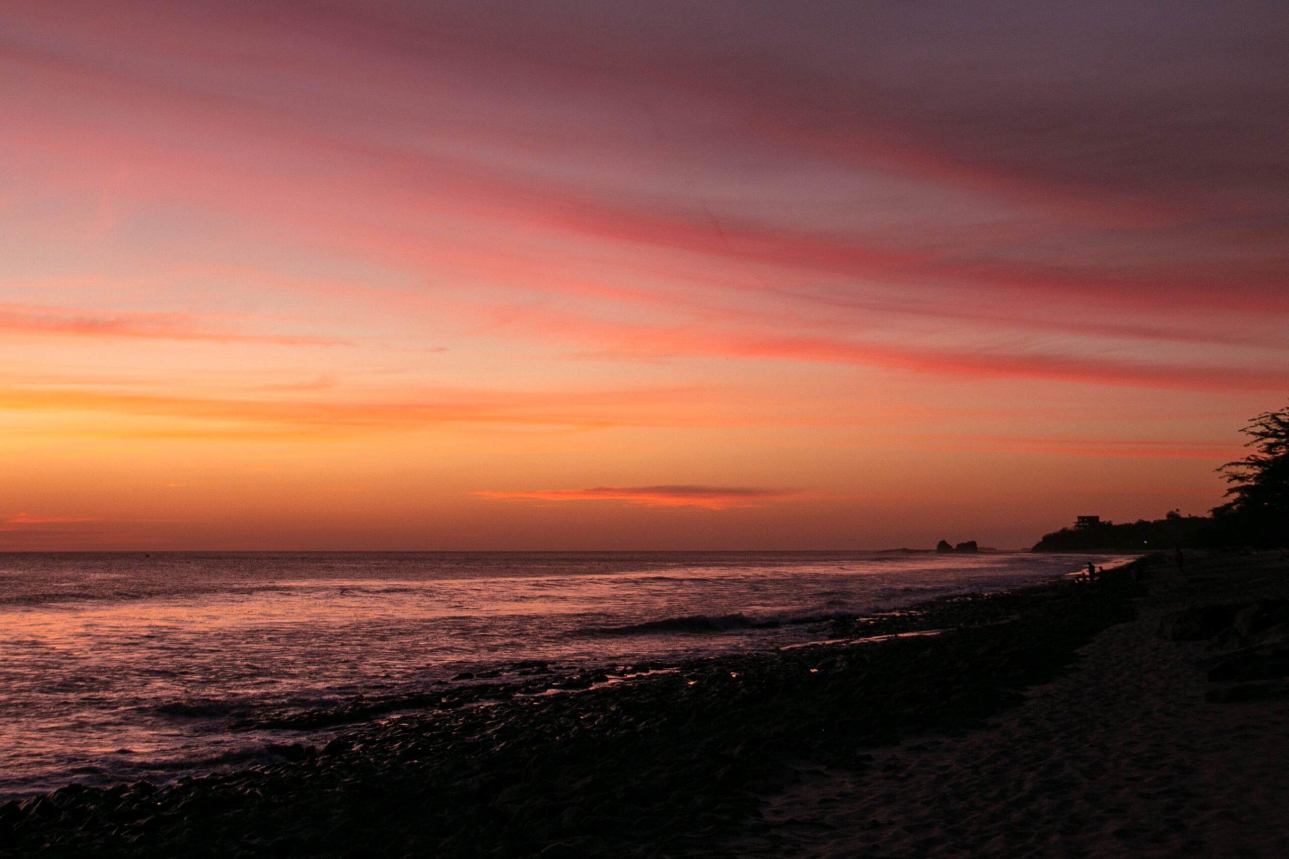 Sunset at Playa Santana Nicaragua