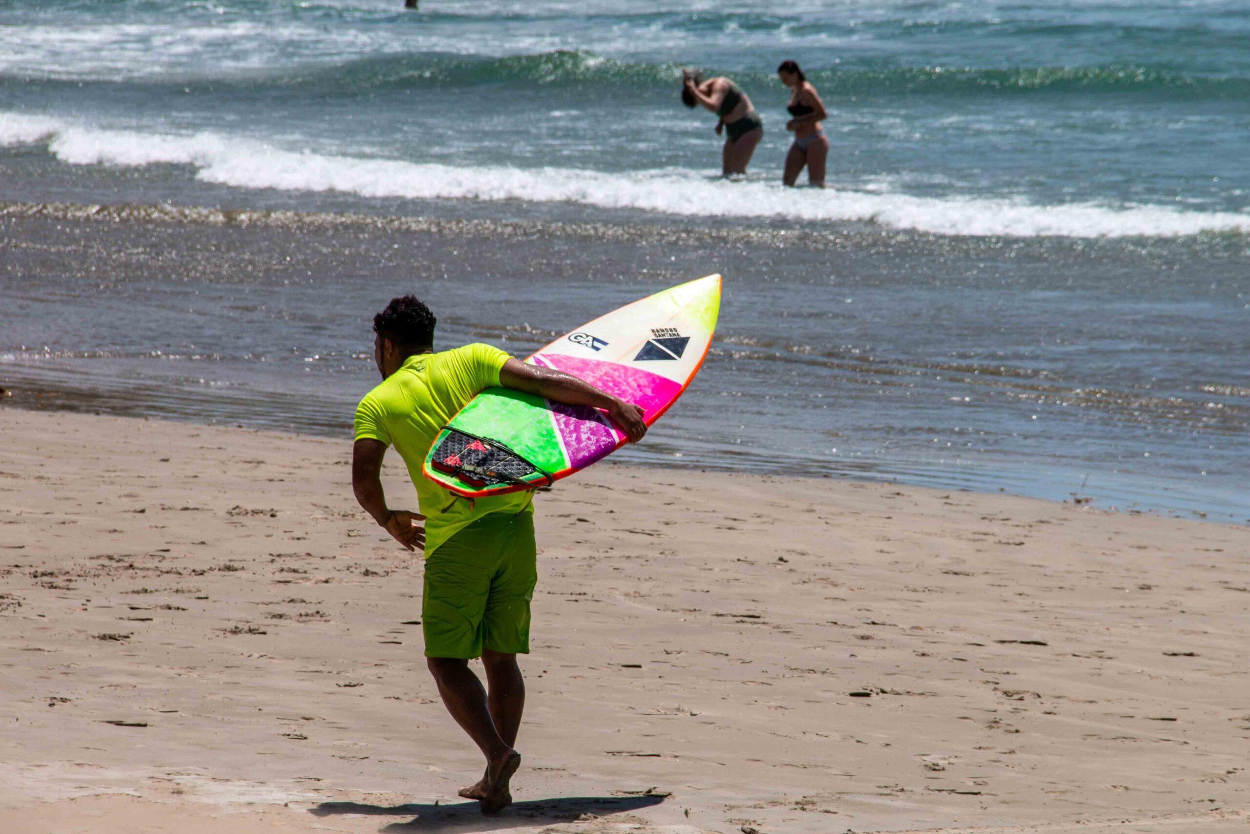 Off shore winds in Nicaragua