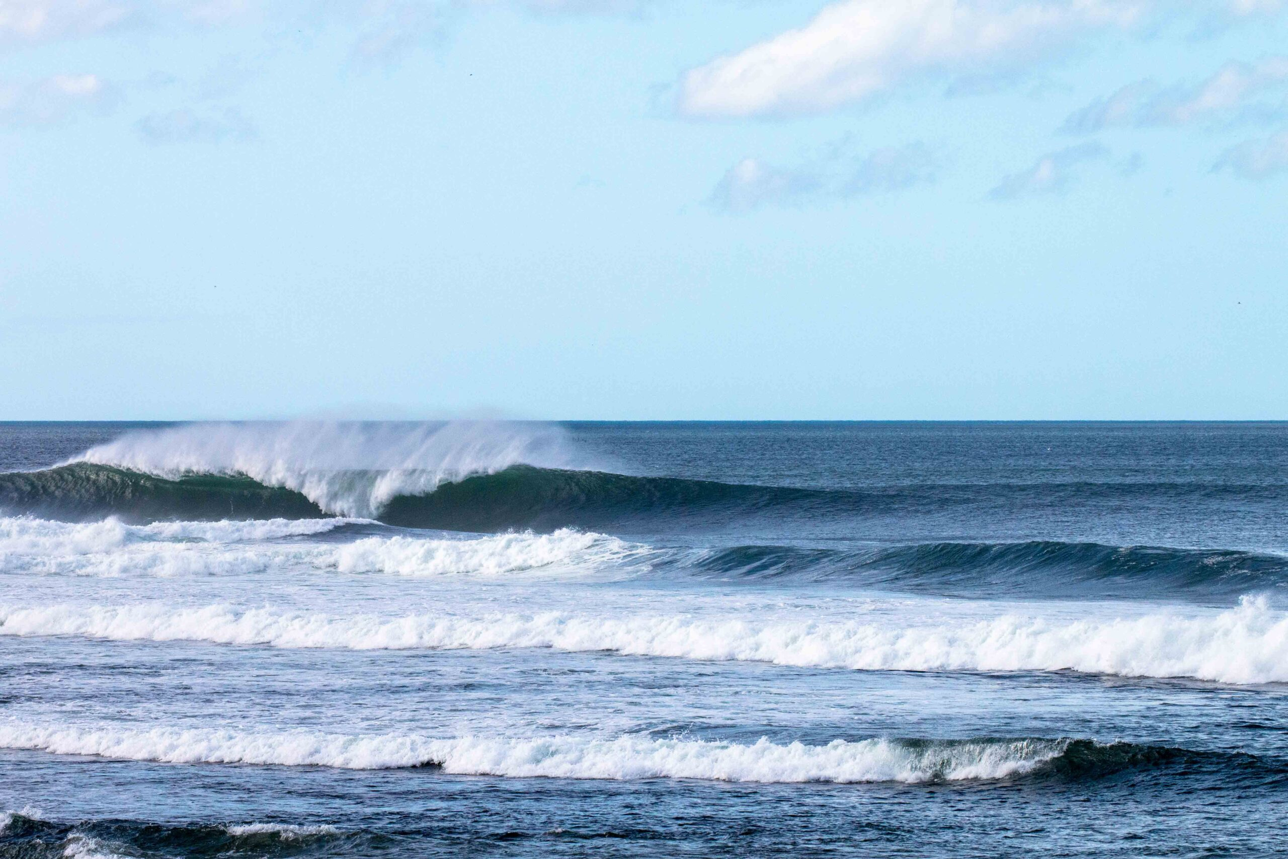 The beast or outer reef at Popoyo Nicaragua