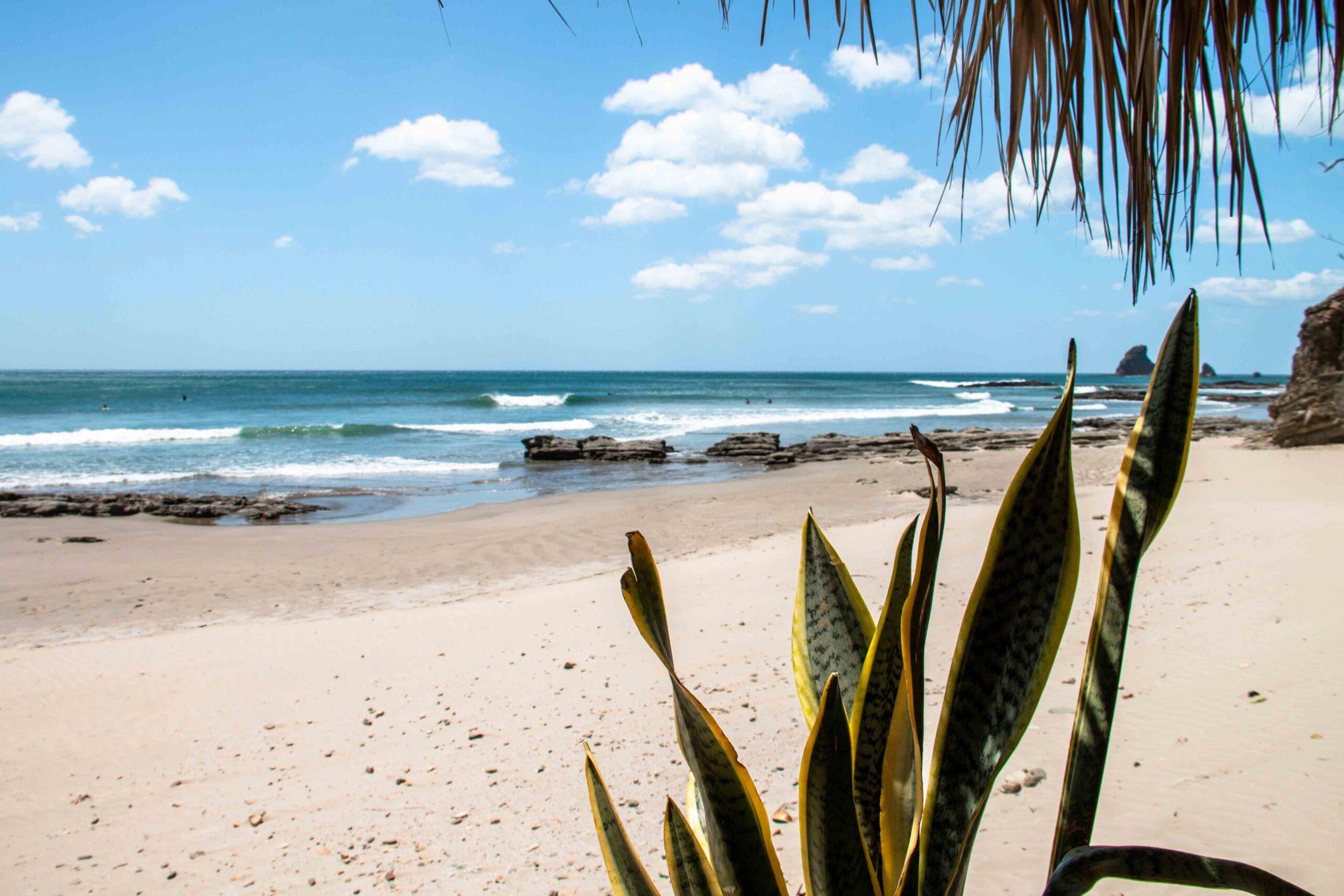 Playa Maderas surf spot in Nicaragua