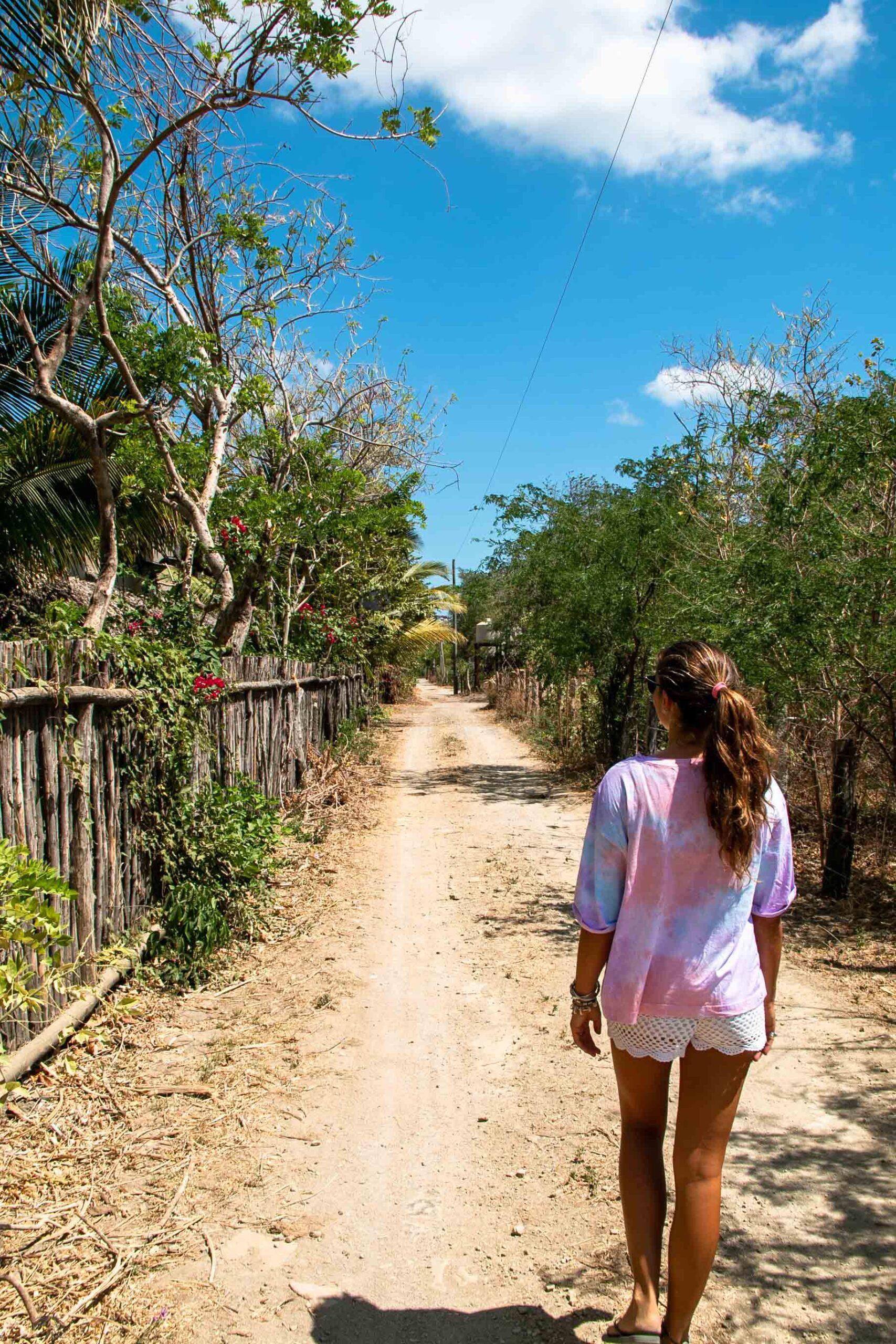 Roads in Popoyo Nicaragua