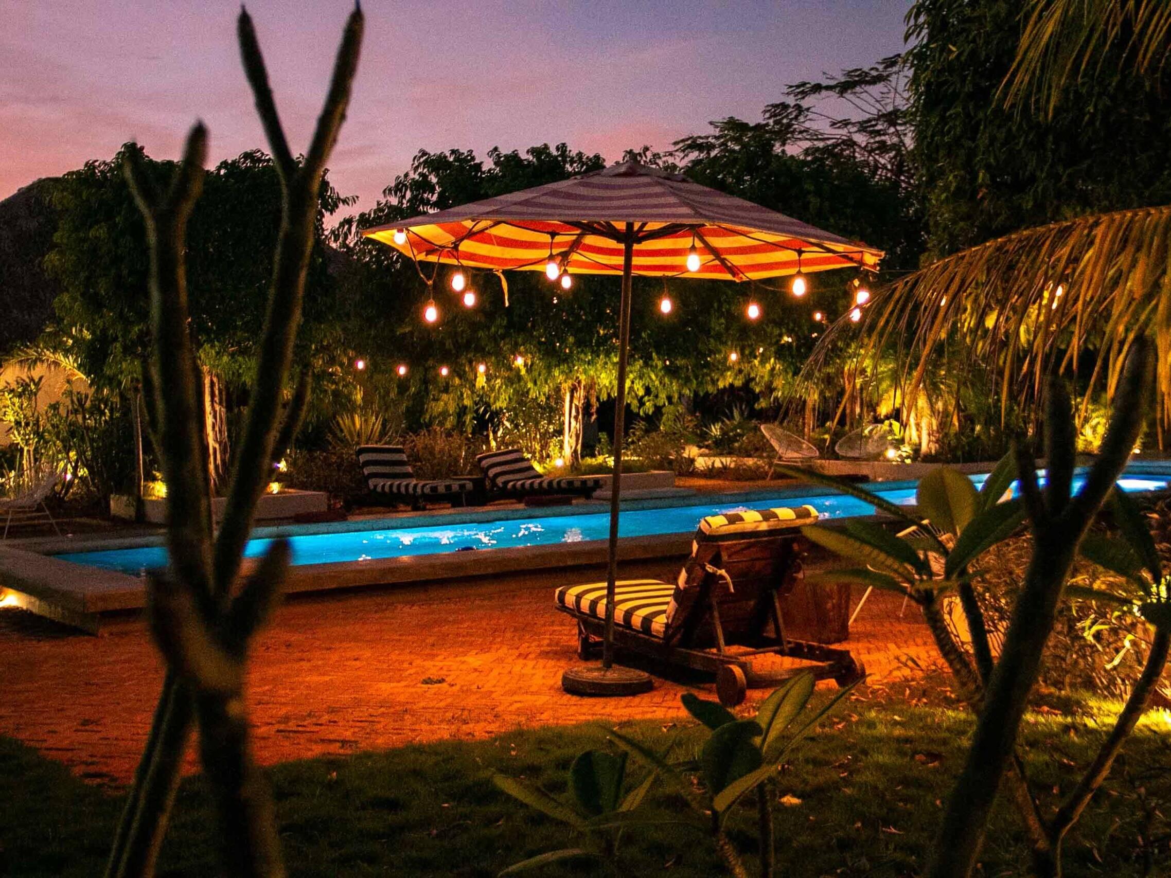 Sunset at Malibu Popoyo Nicaragua