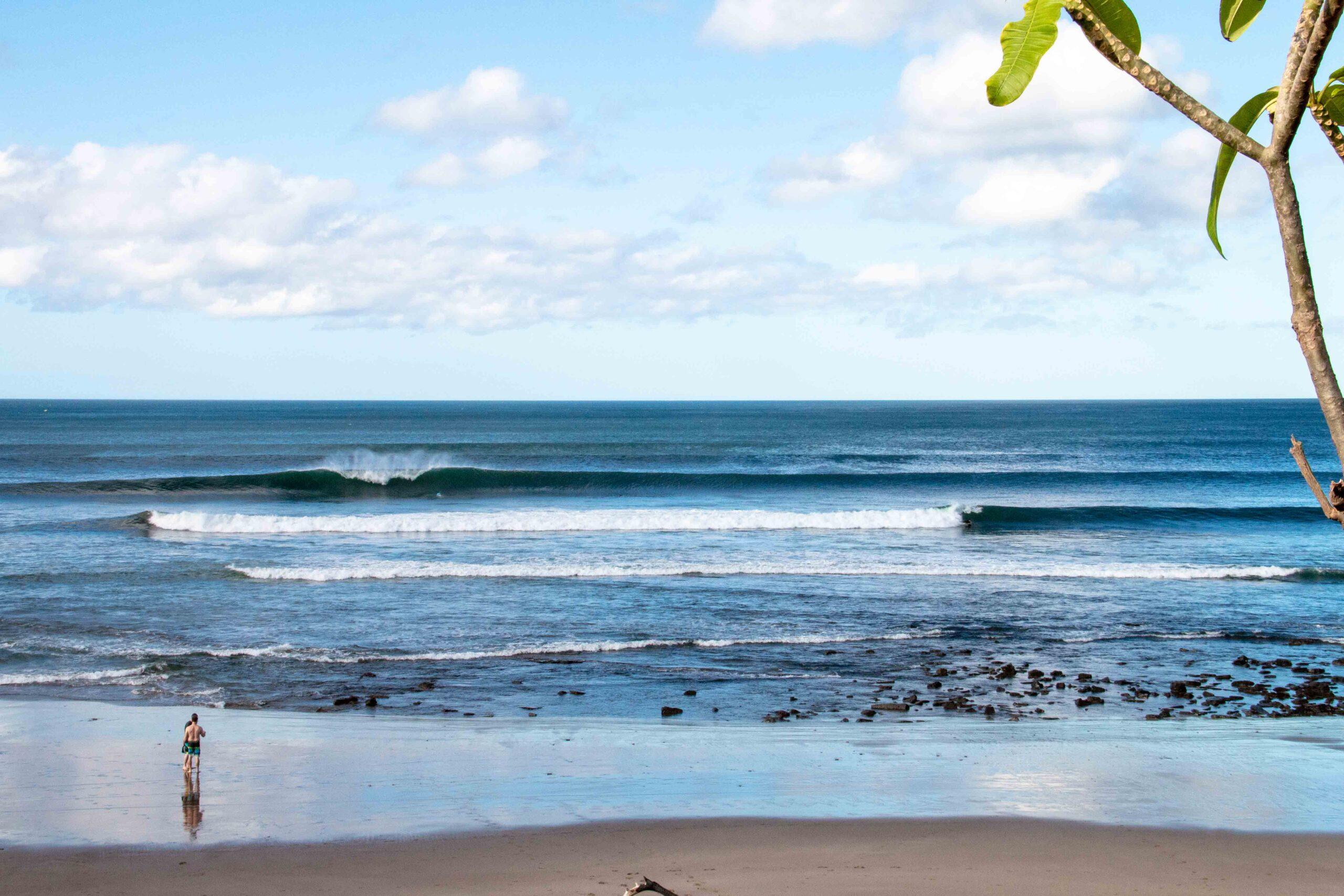 Popoyo surf in Nicargua
