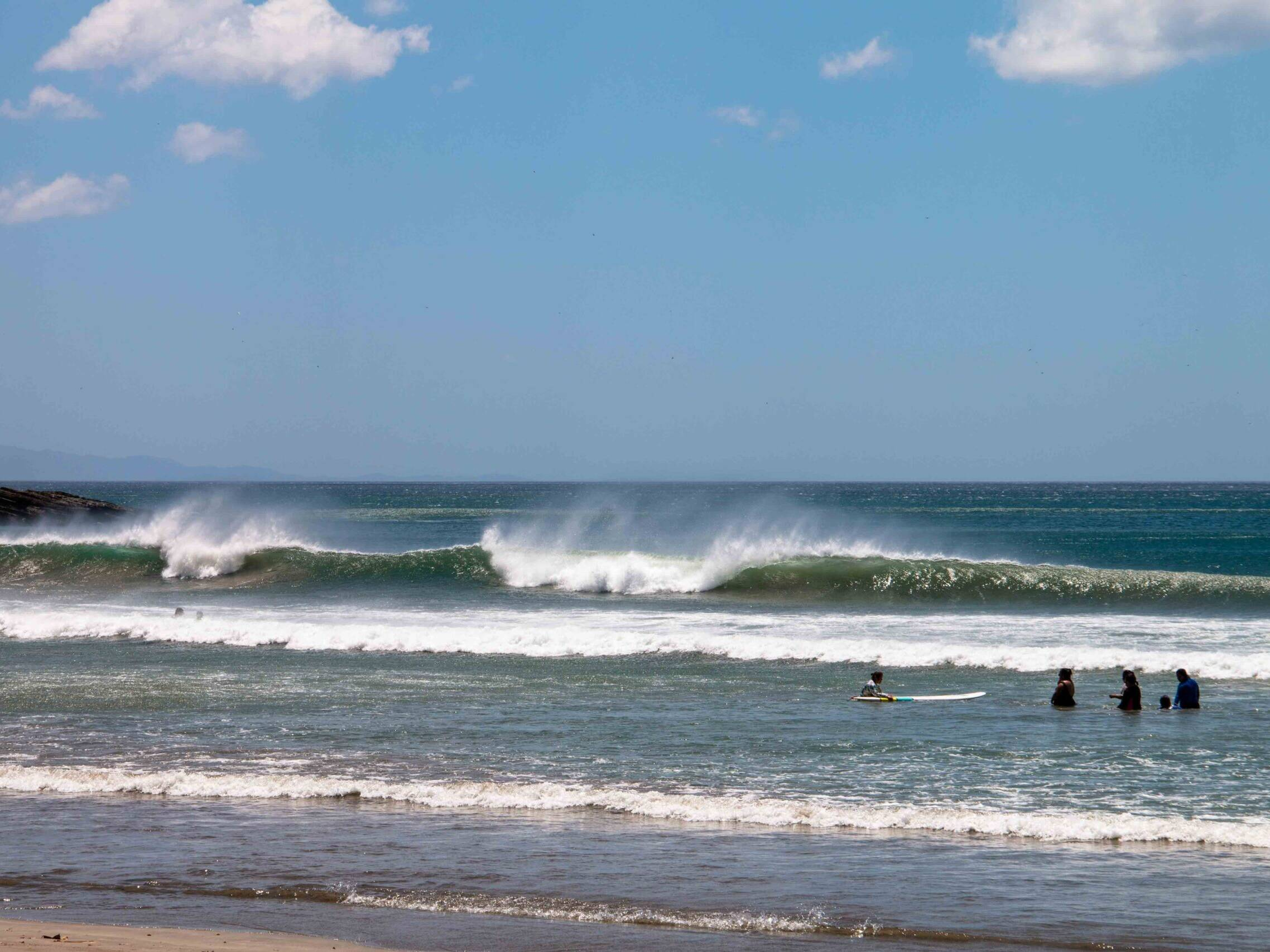 Waves at Playa Maderas Nicaragua
