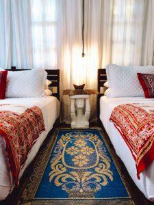 Bedroom at Encantada Ocean Cottages Costa Rica