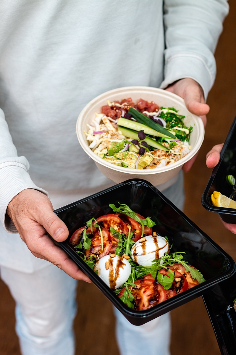 Takeaway food photography for Amsterdam restaurant