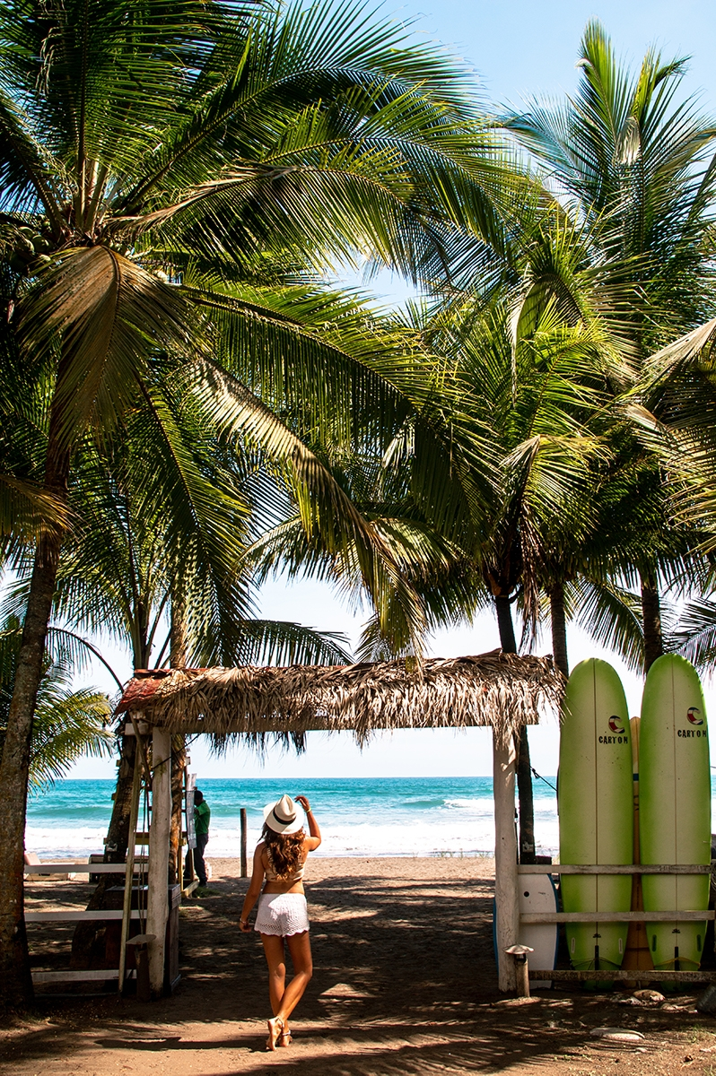 Hospitality photography for Encantada Ocean Cottages Costa Rica