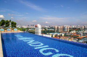 Rooftop pool at Hotel Indigo Singapore Katong