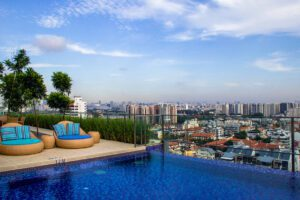 Swimming pool at Hotel Indigo Singapore Katong