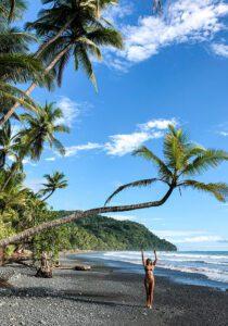 Paradise beach in Costa Rica