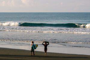 Morning surf in Costa Rica