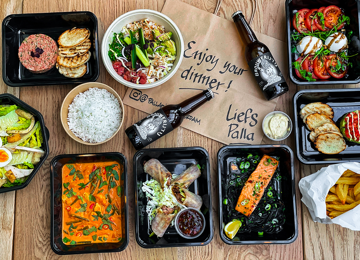 Takeaway food photography by MSC creative agency