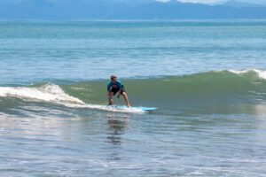Mokum Surf Club retreat lesson in Costa Rica