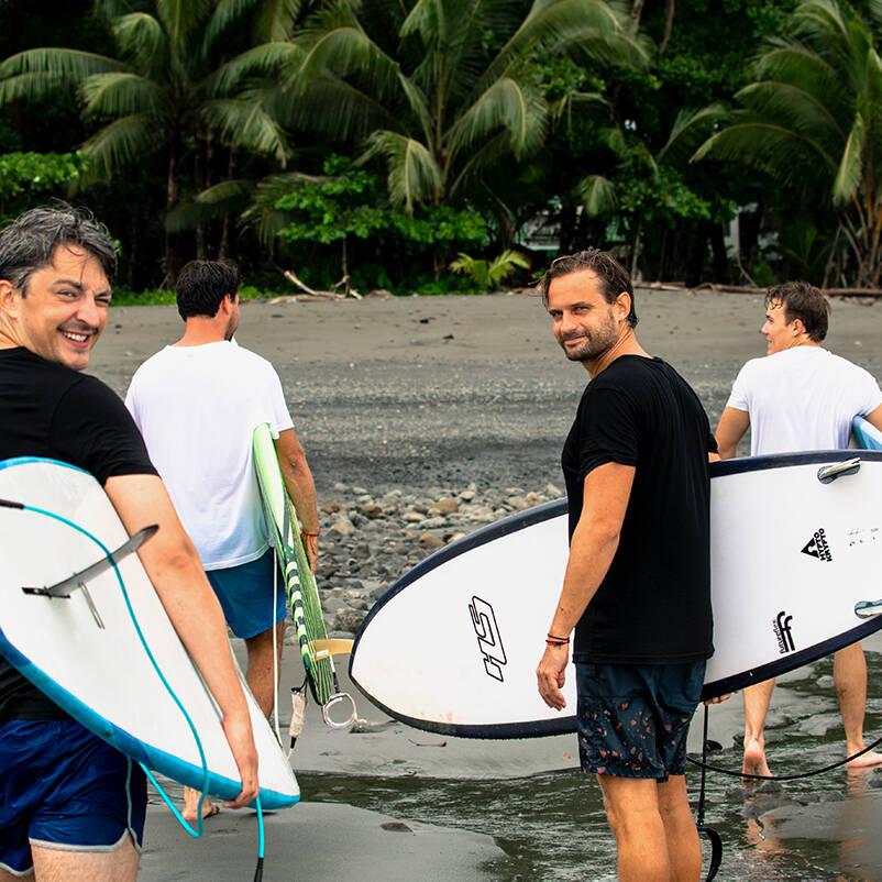 Mokum Surf Club retreat in Costa Rica