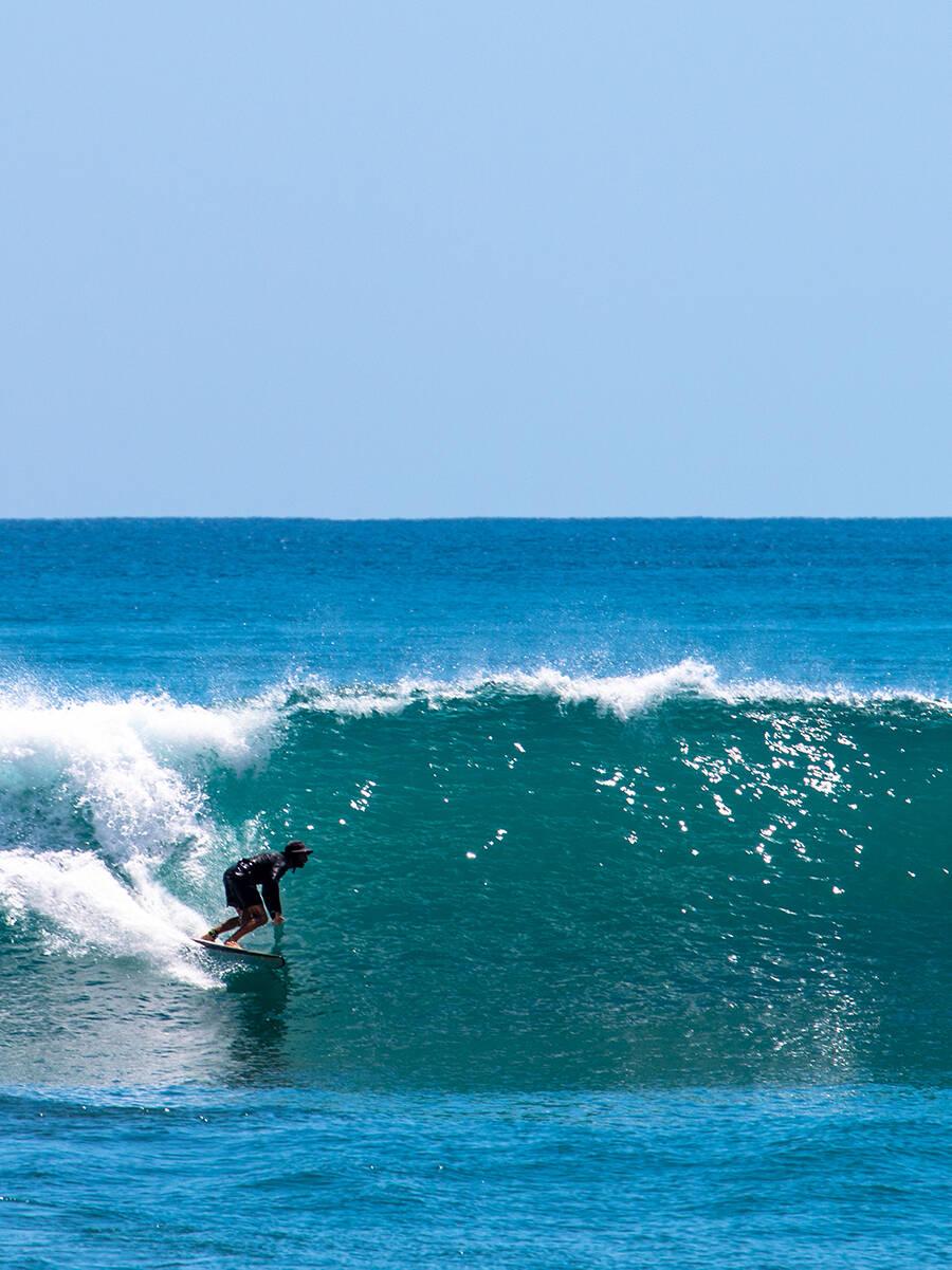 Surfer in Punta Banco Costa Rica