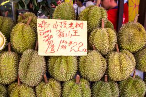 Fruit market in China Town Singapore