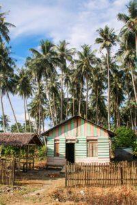 House on Simeulue Island Sumatra