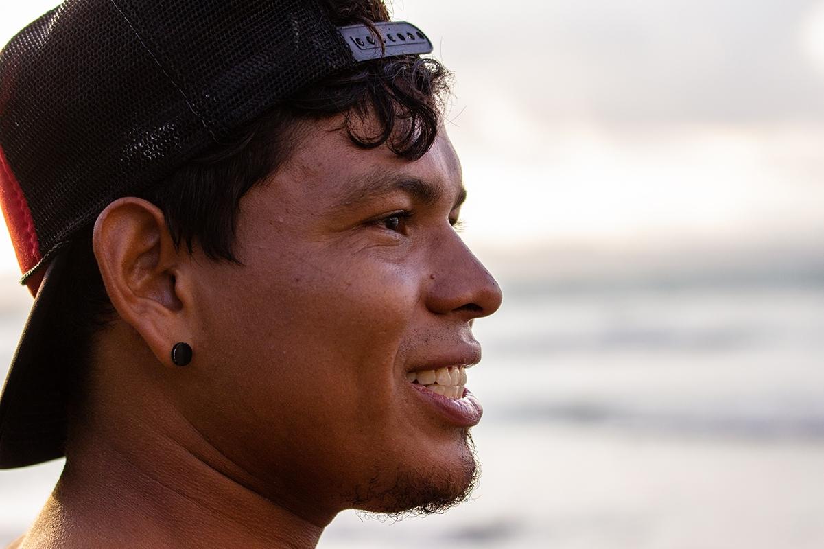 Portrait of a man in Costa Rica