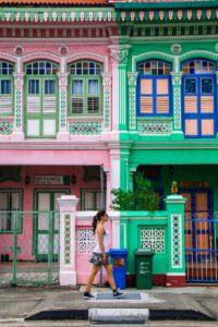 Katong neighbourhood in Singapore