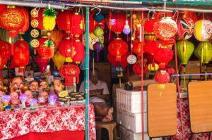 Lantern shop in Singapore