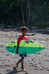 surfer boy portrait