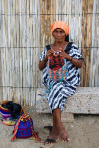 Wayu woman in La Guajira Colombia